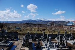 永代墓からの眺め