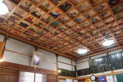 本堂下陣の天井絵